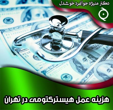 هزینه عمل هیسترکتومی در تهران