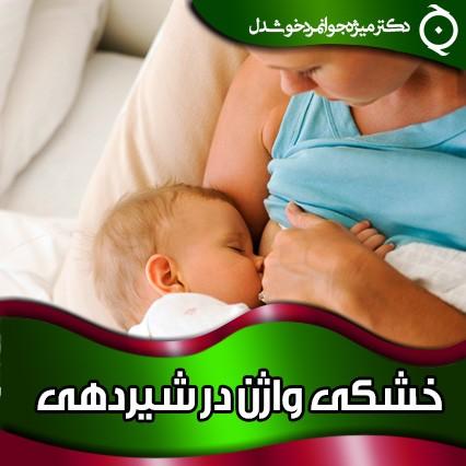 خشکی واژن در شیردهی